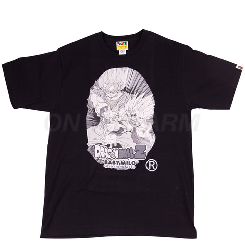 Bape Black Dragon Ball Z Father Son Kamehameha Tee