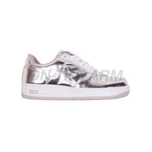 Bape Chrome Bapesta