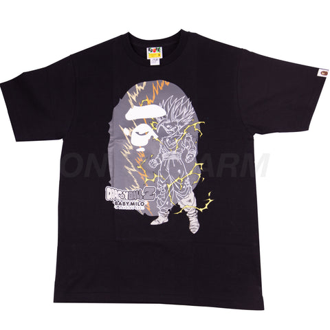 Bape Black Dragon Ball Z Gohan Ape Head Tee