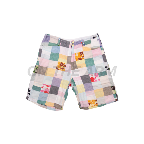 Bape Patchwork Shorts