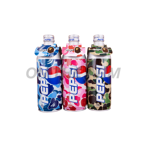 Bape Pepsi Bottles (Set of 3)