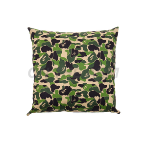 Bape Green Camo Pillow