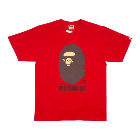 BAPE Red By Bathing Tee