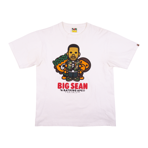 Bape White Big Sean Tee