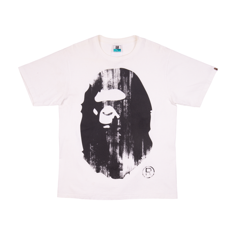 Bape White Kanye West 20th Anniversary Tee