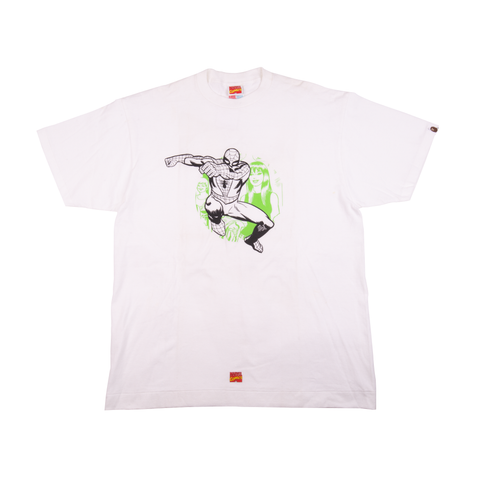 Bape White Spiderman Tee