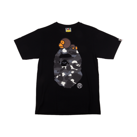 Bape Black Glow In The Dark Tee