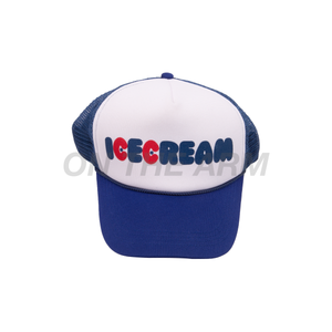 BBC Ice Cream Blue Trucker Hat