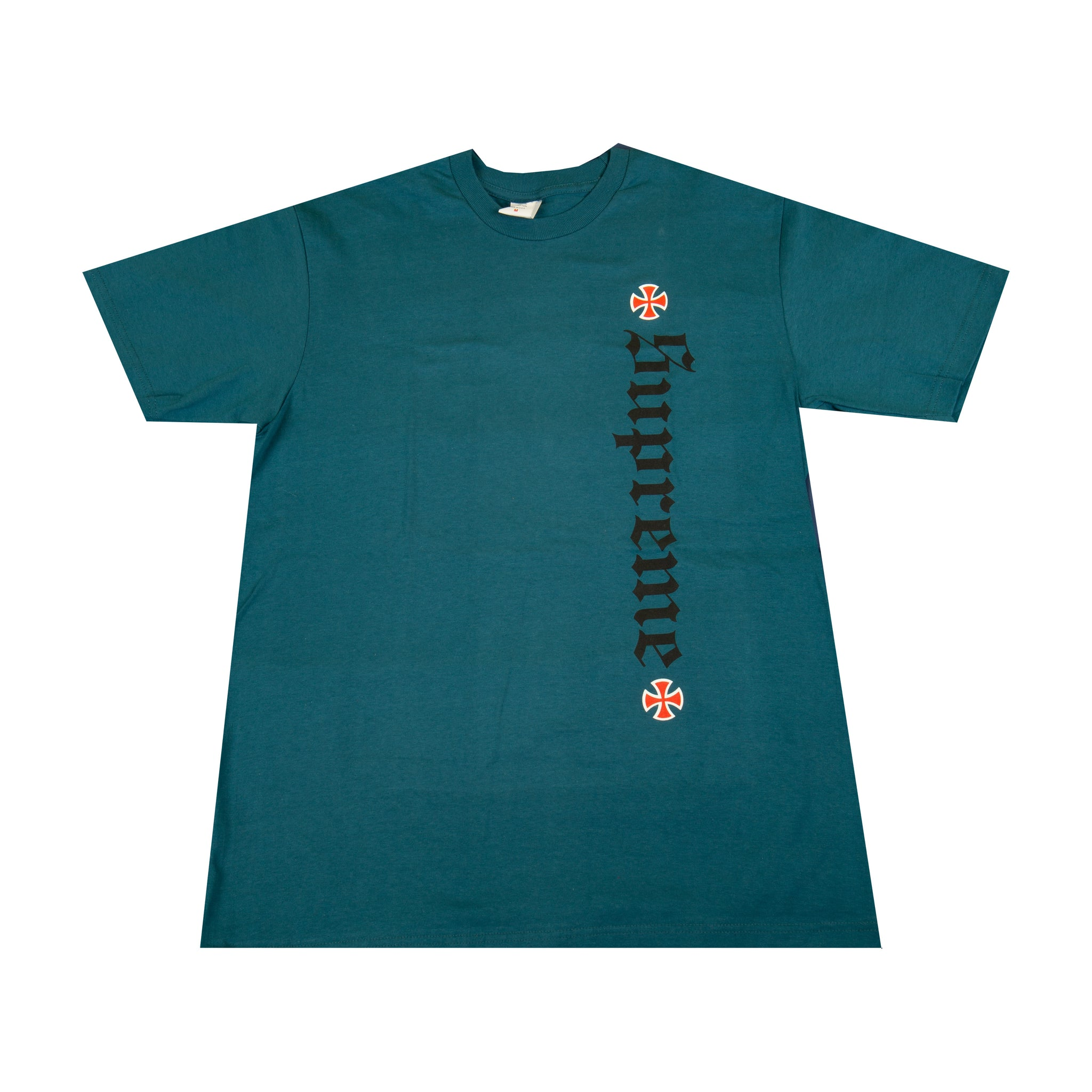 Supreme Dark Slate Independent Old English Tee