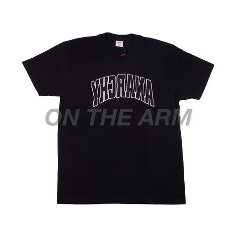 Supreme Black Anarchy Tee