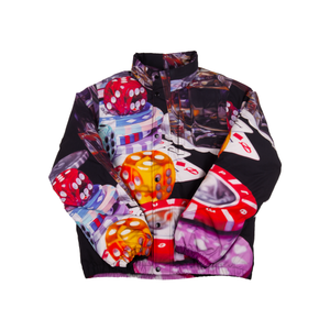 Supreme Black Casino Jacket