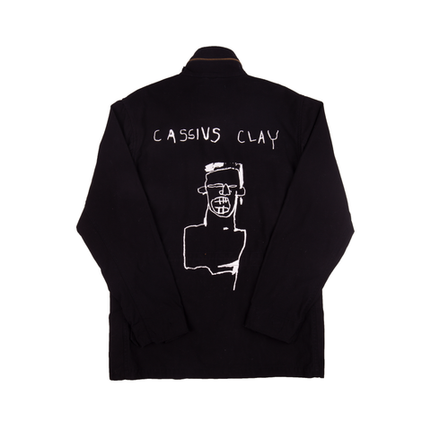 Supreme Black Basquiat Jacket