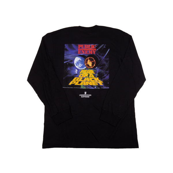 Supreme Black Counterattack L/S