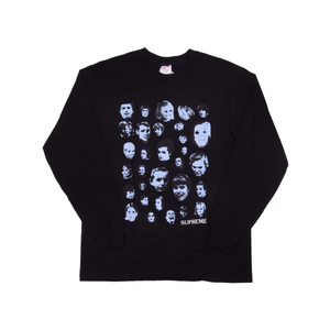Supreme Black Faces L/S