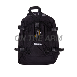 Supreme Black FW19 Backpack