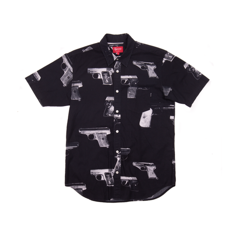Supreme Black Guns Button Up