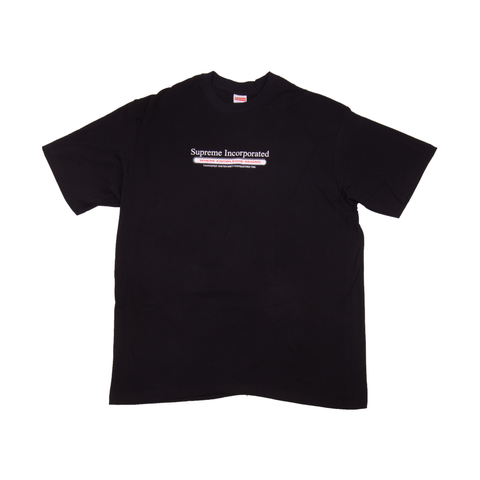 Supreme Black Inc Tee