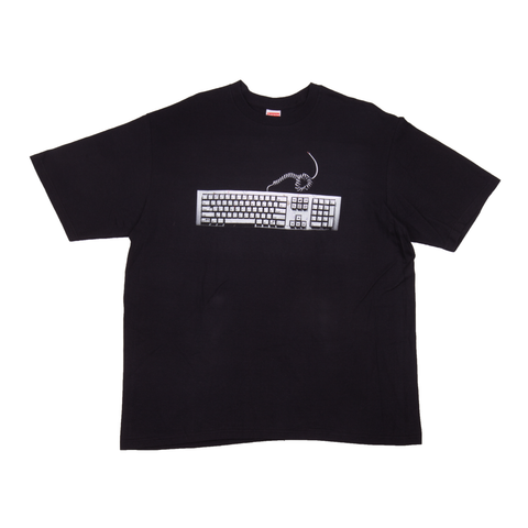 Supreme Black Keyboard Tee