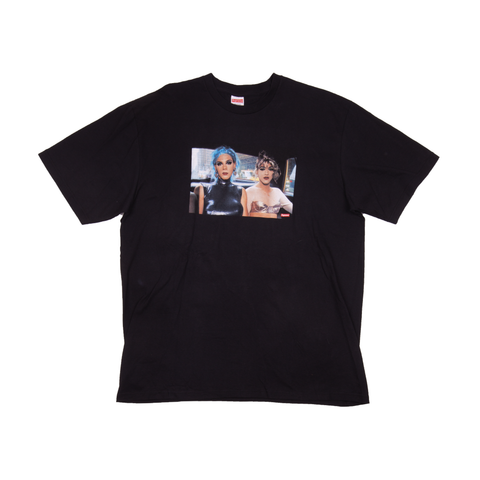 Supreme Black Nan Goldin Tee