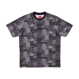 Supreme Black Paisley S/S Top