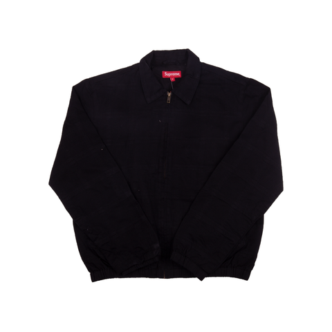 Supreme Black Patchwork Harrington