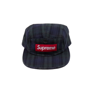 Supreme Black Snap Button Pocket Camp