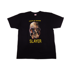 Supreme Black Slayer South Of Heaven Tee