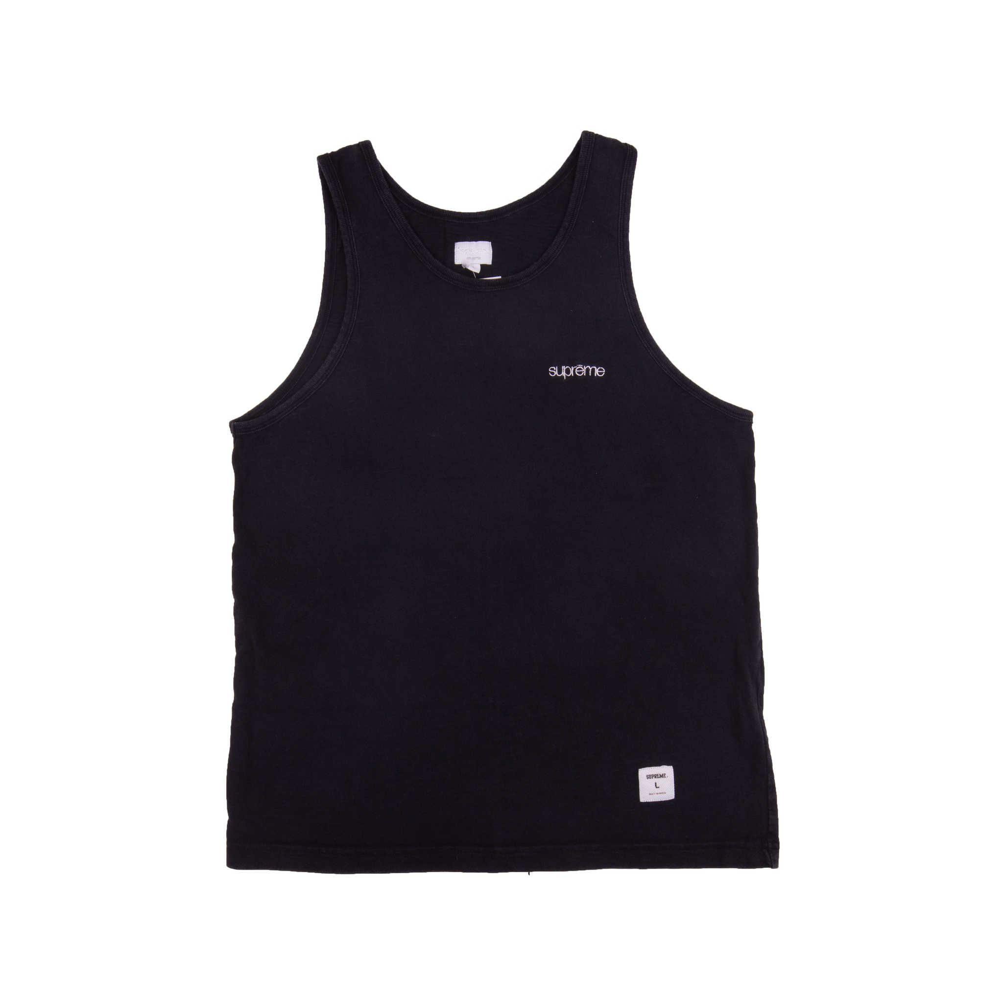 Supreme Black Tank Top