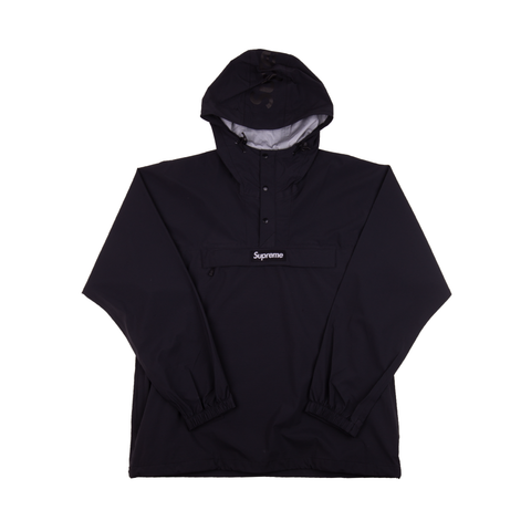 Supreme Black Taped Seam Anorak