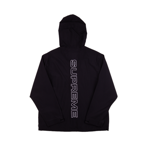 Supreme Black Taped Seam Jacket