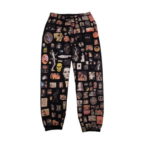 Supreme Black Thrills Sweatpant