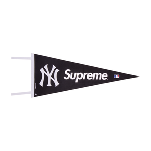 Supreme Black Yankees Pennant