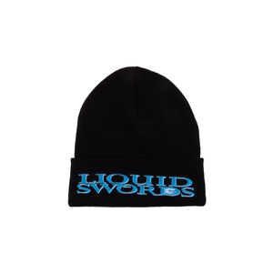 Supreme Black Liquid Swords Beanie