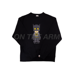 Bape Black Batman Crew