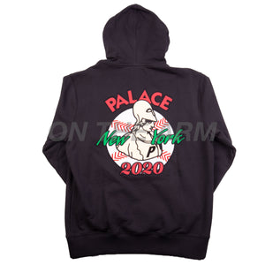 Palace Black New Era Hoodie