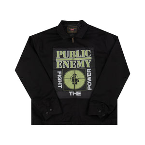 Supreme Black Undercover Public Enemy Work Jacket