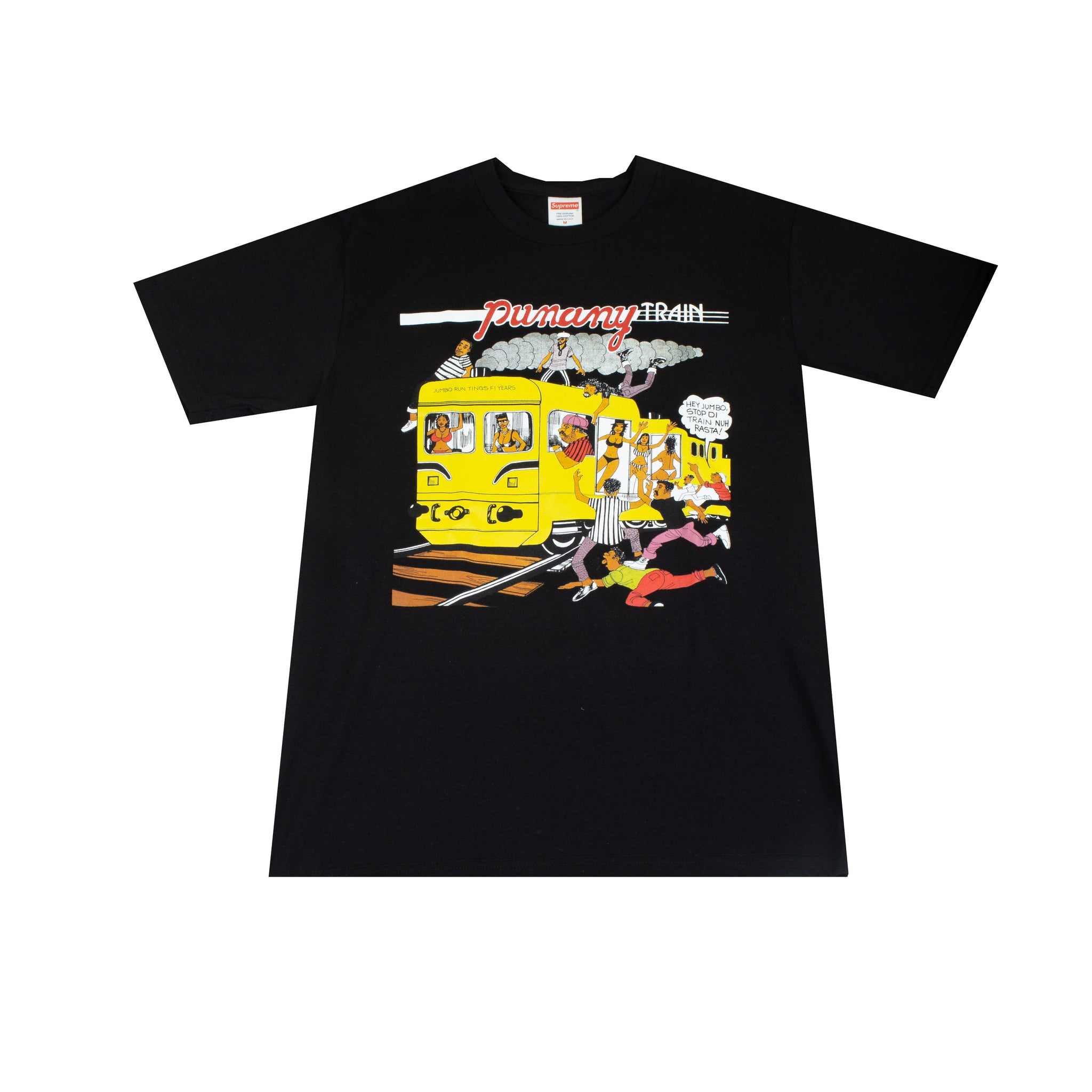 Supreme Black Punany Train Tee
