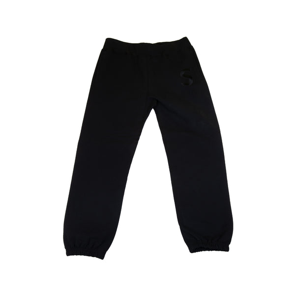 Supreme Black Tonal S Logo Sweats
