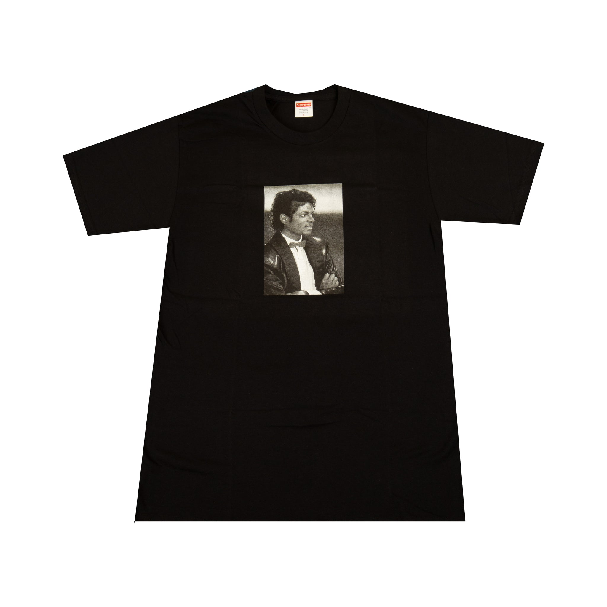 Supreme Black Michael Jackson Tee