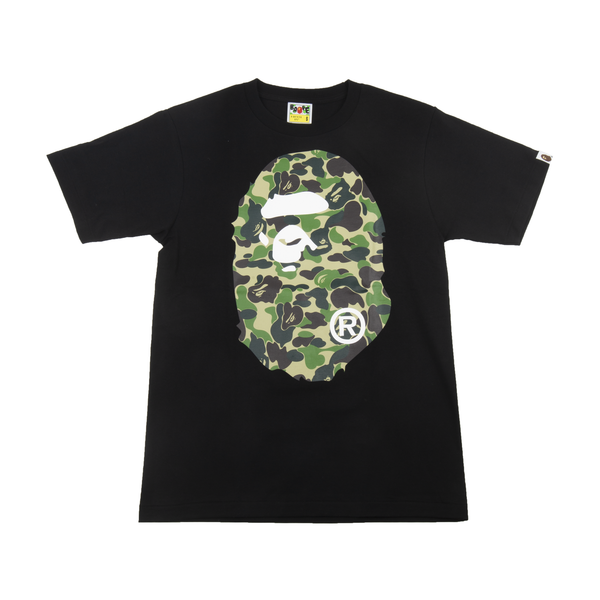 Bape Black 1st Camo Big Ape Head Tee
