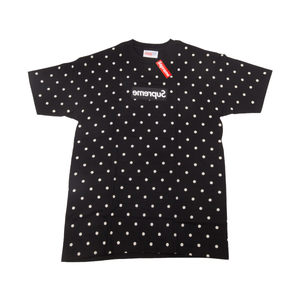 Supreme Black CDG Box Logo