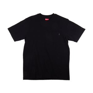 Supreme Black S/S Pocket Tee