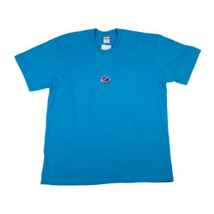 Supreme Bright Blue Bottle Cap Tee