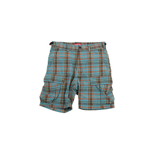 Supreme Blue Plaid Shorts