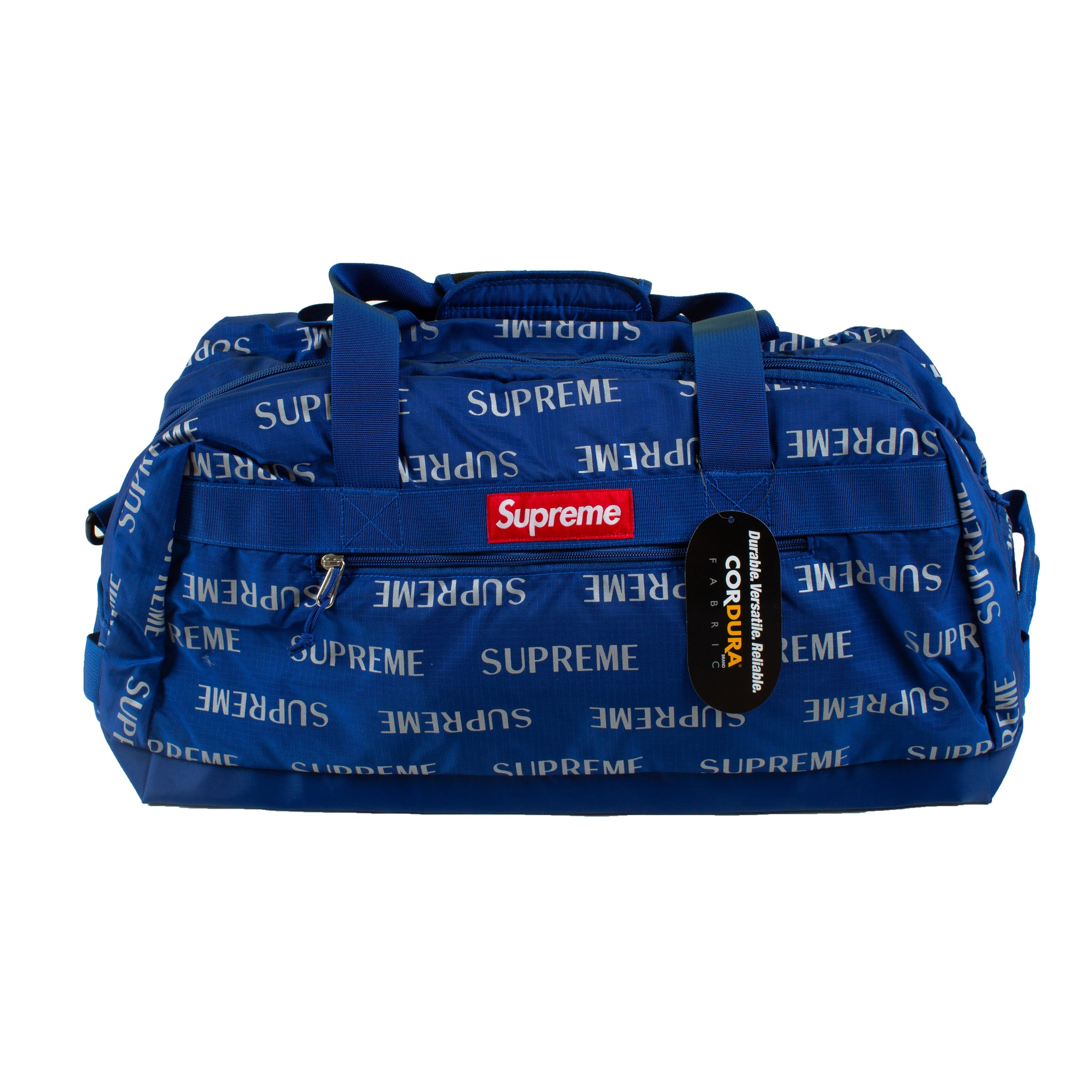 Supreme Blue Repeat Duffle Bag