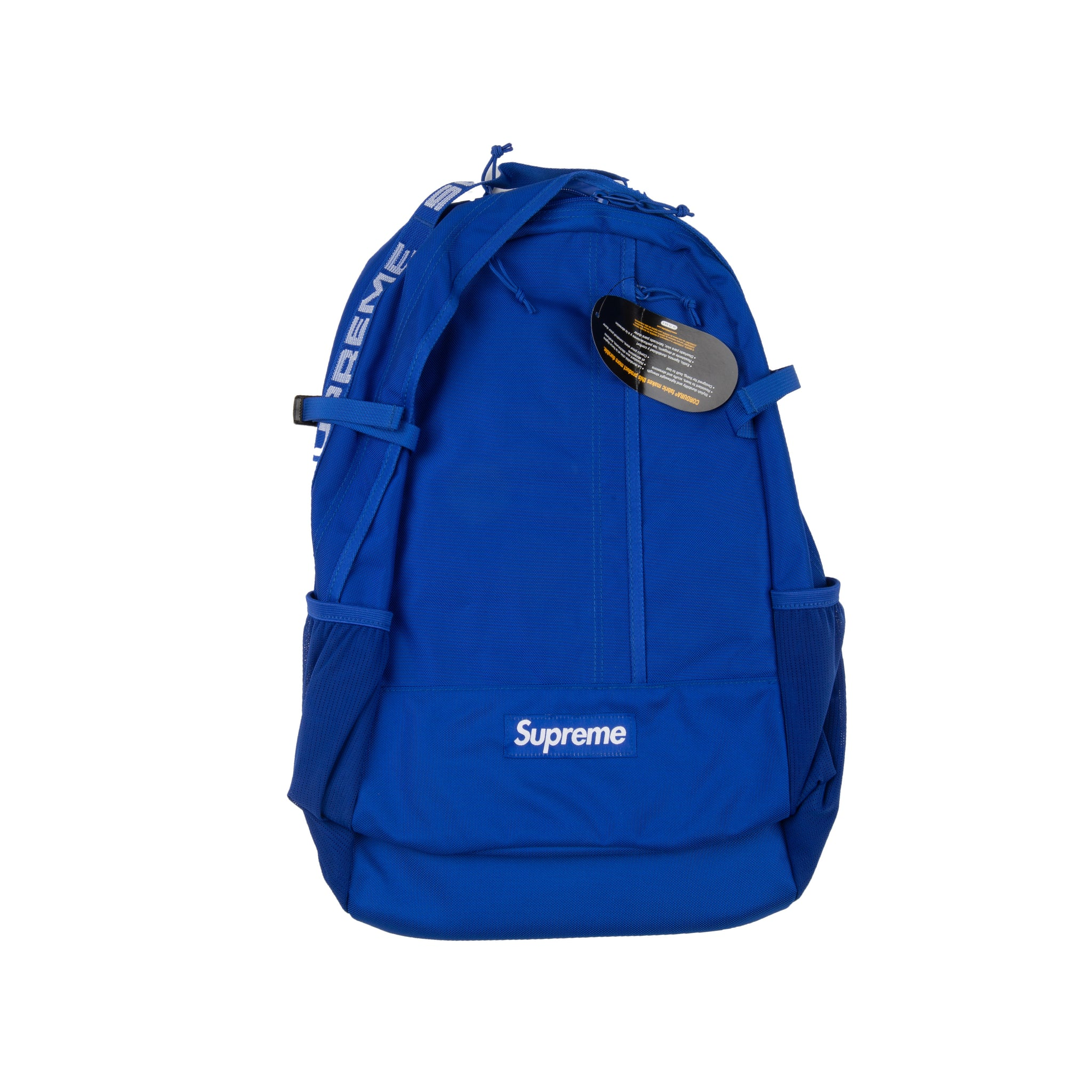 Supreme Blue SS18 Backpack