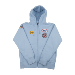 Supreme Light Blue Hysteric Glamour Zip Up
