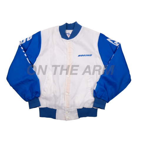 Vintage Blue/White Boeing Jacket