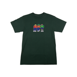 Bronze Forest Green Childhood Tee