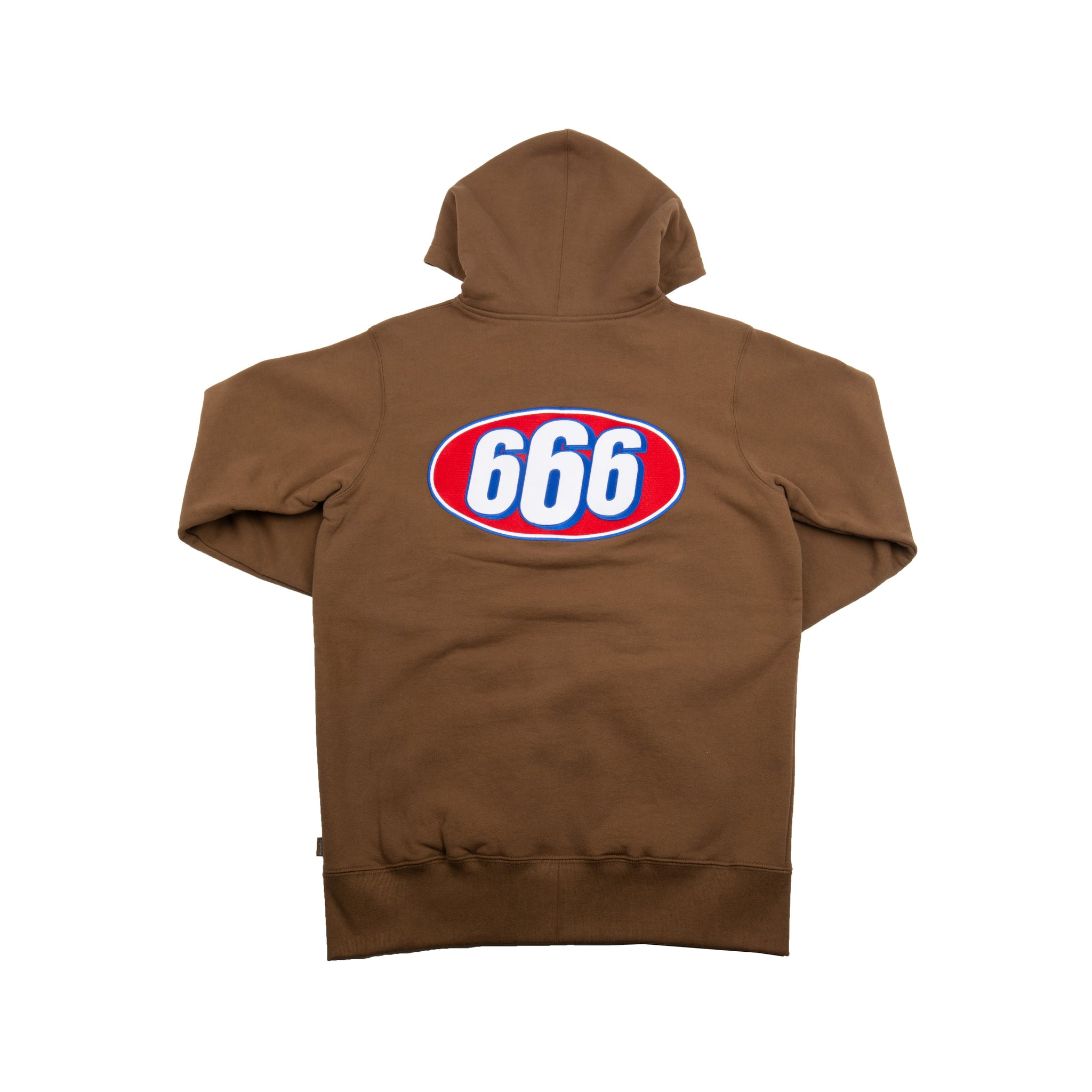 Supreme Brown 666 Zip Up